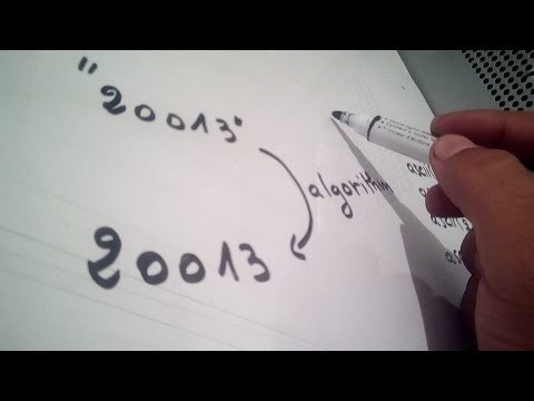 Algorithm : convert a string to integer (without atoi)