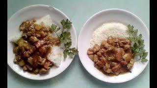 Как приготовить японское карри с рисом своими руками