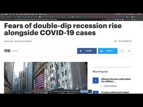 Economists Are Fearing A Double Dip Recession