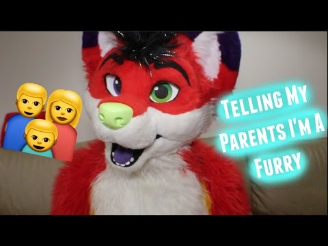 How I Told My Parents I'm A Furry