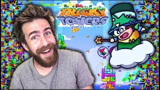TETRIS IN 2018 IS TRIPPY AF - Tricky Towers
