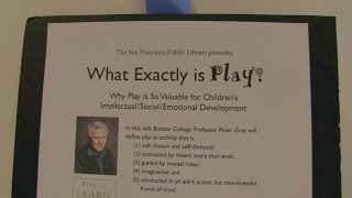 "Dr. Peter Gray on ""What Exactly Is Play?"""