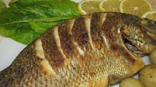 Рецепт - Как поджарить рыбу с румяной и хрустящей корочкой