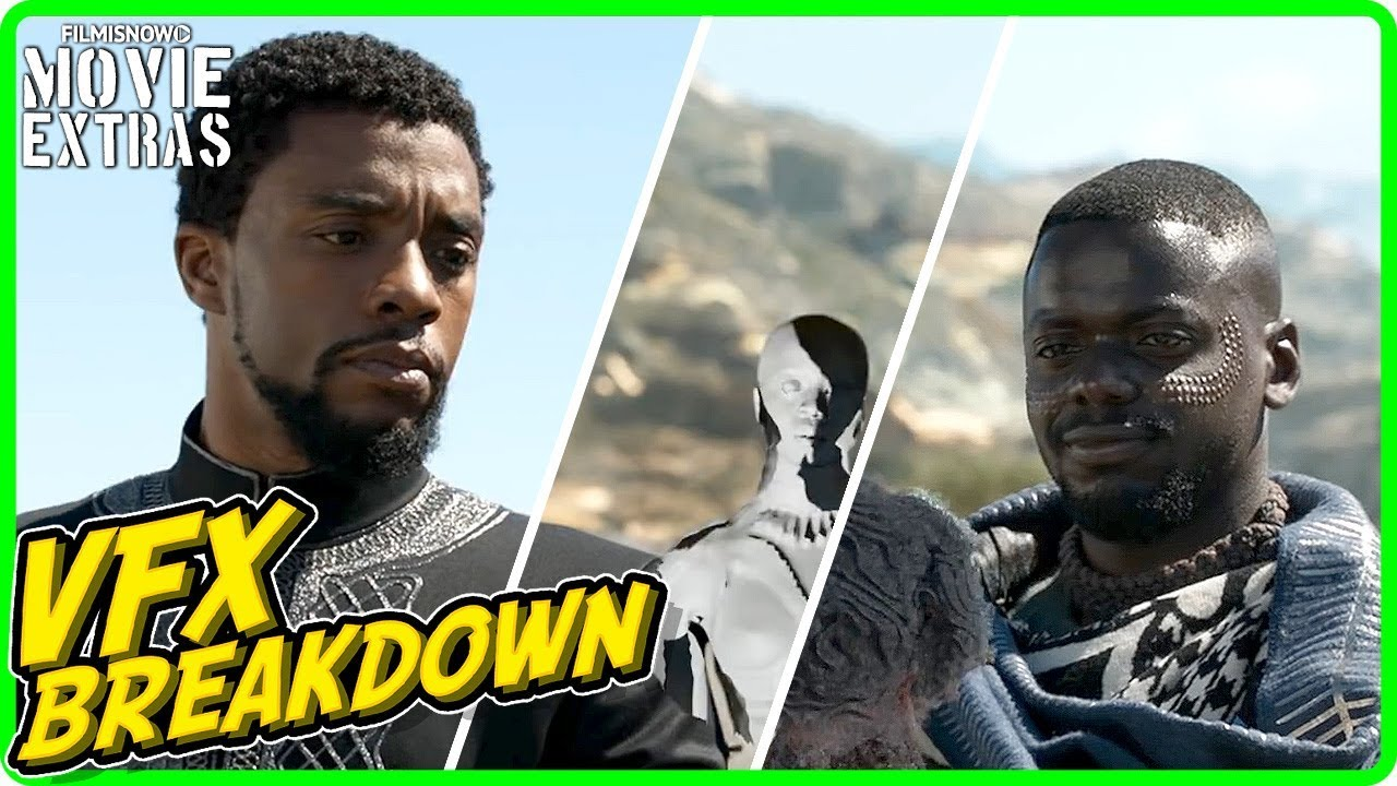 BLACK PANTHER | VFX Breakdown by ILM (2018)