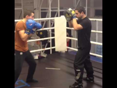 Boxing-Christos Gatsis #Vizantinos target sport club #Olympic Stadium Athens