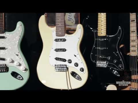 Fender - NAMM 2013 - Booth Walkthru (Raw Footage)