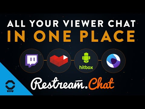 Connect Twitch and YouTube Gaming Chat Together With Restream.io Chat