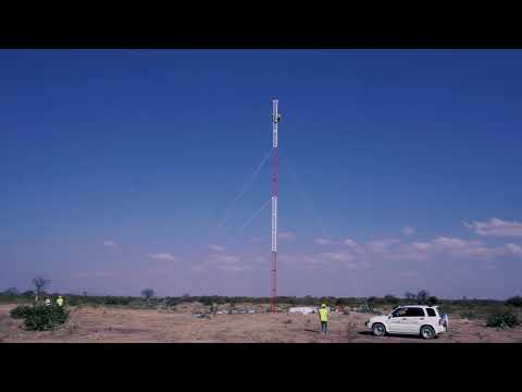 Wind Farm Community Open day and met mast construction, Dodoma, Tanzania