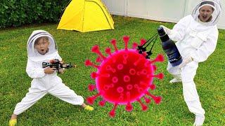 سينيا وقصة الجراثيم والفيروس