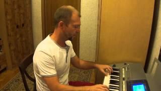 """Мелодия из фильма """"Зимняя вишня"""" на синтезаторе Yamaha"""