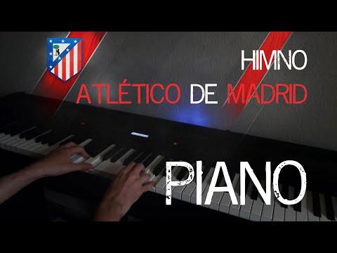 Atlético de Madrid Himno / Anthem (Blues Piano | Sheet Music | Partituras)