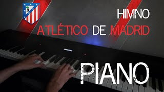 Atlético de Madrid Himno / Anthem (Blues Piano | Sheet Music | Partituras)