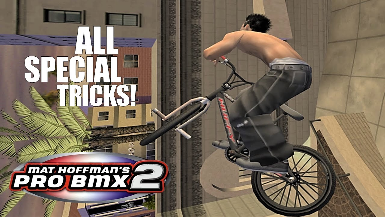 Mat Hoffman's Pro BMX 2: All Special Tricks!