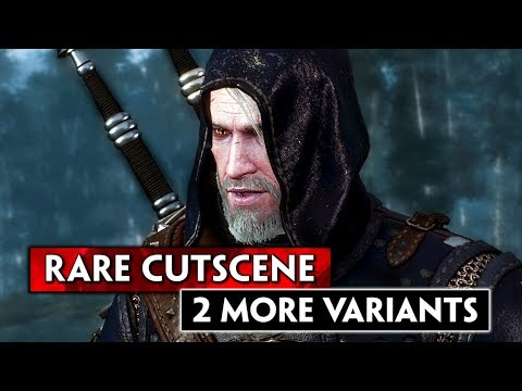 Witcher 3: [2 More Rare Cutscenes] for the Wild at Heart Quest if you Refused to Lie to the Hunter thumbnail
