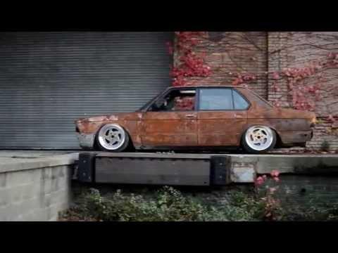 Aaron Wey's bagged BMW e28