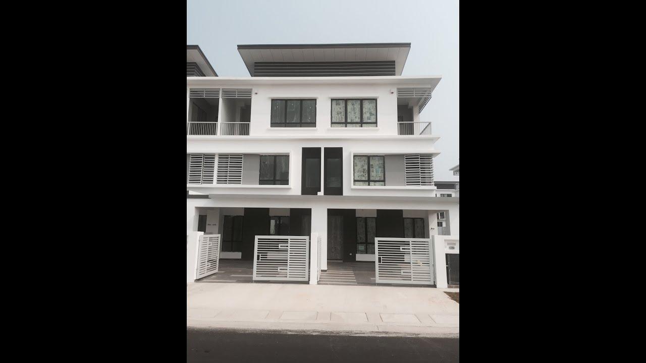 caffra 3 storey linked house setia alam shah alam youtube