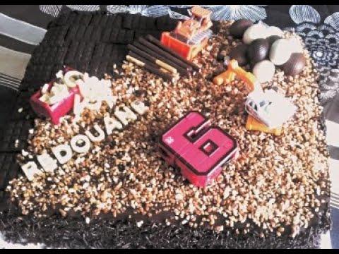 Gâteau Chantier Gâteau Danniversaire Pour Petits Garçons Youtube