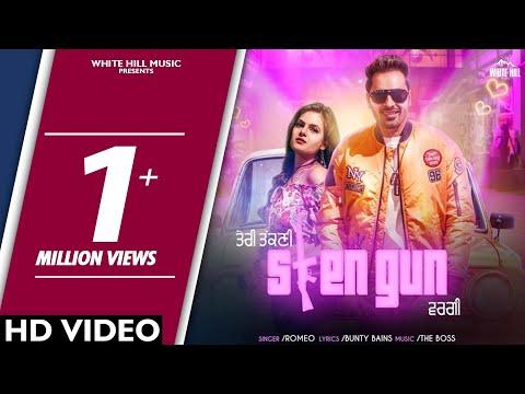 sten-gun-(full-video)-romeo-|-bunty-bains-|-the-boss-|-white-hill-music-|-new-song-2018