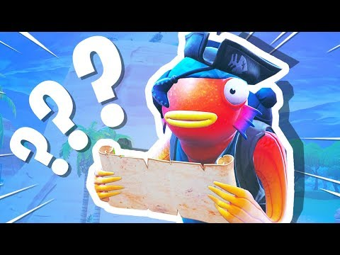 NEW Fortnite Treasure Map Is CURSED!