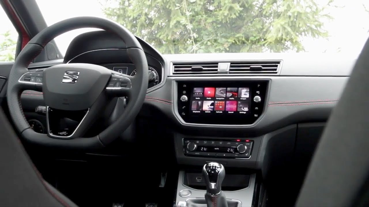 2018 seat arona fr interior youtube. Black Bedroom Furniture Sets. Home Design Ideas