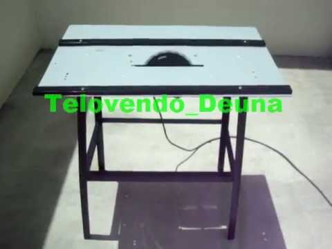 Sierra circular black decker con mesa youtube for Mesa y banco rinconero cocina