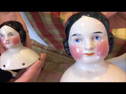 Antique China Doll Talk With Elizabeth Ann Coleman And Kathy Turner