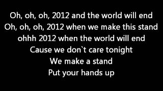 2012 ( If the world would end) Mike Candys & Evelyn lyrics