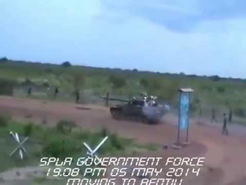 SPLA Entering into Bentiu Pt. 2