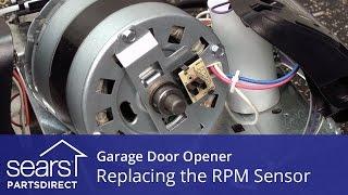 Replacing the RPM Sensor on a Garage Door Opener