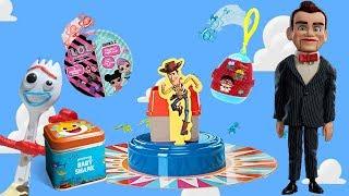 Toy Story 4 Forky Trash Bin Bonanza Game Benson Sits Hot on a Cauldron! Ryan's World, Baby Shark,LOL