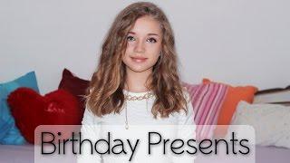 видео: Подарки на День Рождения/Birthday Presents