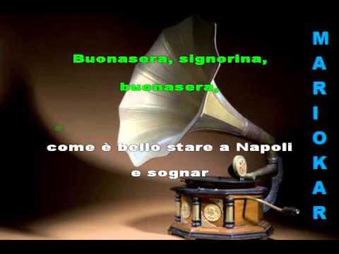 Fred Buscaglione   Buonasera signorina karaoke