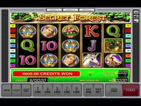 Secret forest online casino spiele um echtes geld