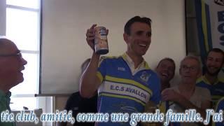 Christophe Blanchard s'entraîner avec l'ECSA Avallon (89)