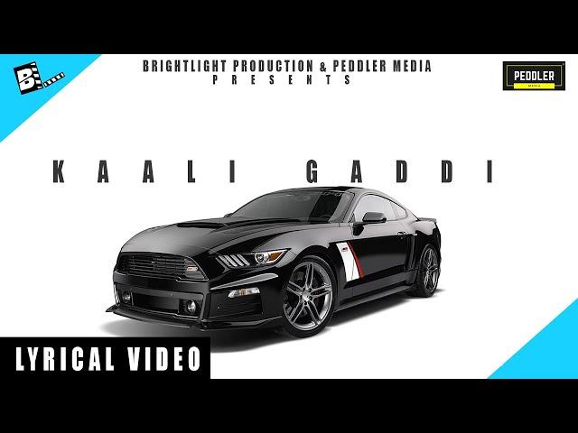 KALI GADDI (official audio ) Adrey ft. Laeeiq | Latest Punjabi Songs 2018 #1