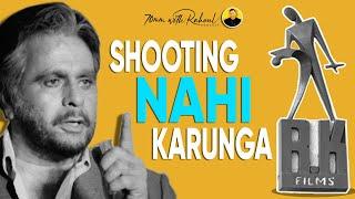 Dilip Kumar Never Did Shooting At Raj Kapoor's RK Studio