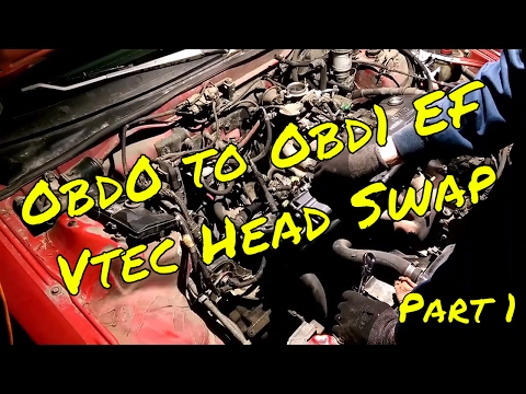 Obd0 to Obd1 - Vtec Mini Me Head Swap The Honda Track Car Build EP.11 - from YouTube · Duration:  14 minutes 44 seconds