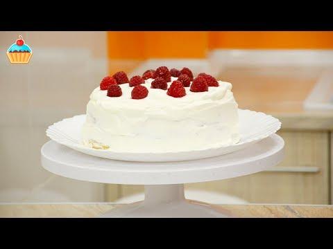 Торт фруктовый с творогом