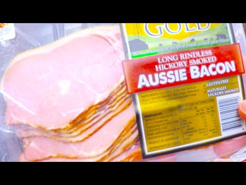 Australian Supermarket Bacon Section Walkthough