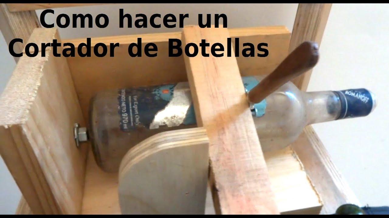 Como hacer una herramienta para cortar botellas bunker for Cortador de vidrio