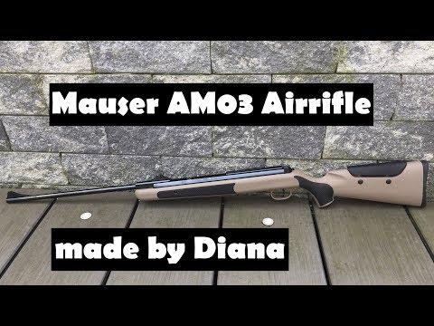 Luftgewehr Mauser AM03 by Diana - Review und Test