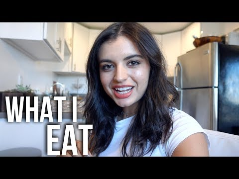 WHAT I EAT IN A DAY! | Rebecca Black