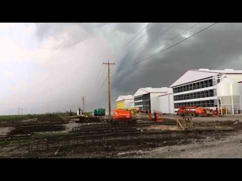 Tornados in Bogata, Tx Clarksville, Tx.