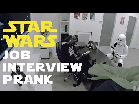 Star Wars Job Interview Prank