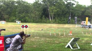 Jerry Miculek (Round 1) RockCastle AR15.com 3 Gun Nation Shoot-off