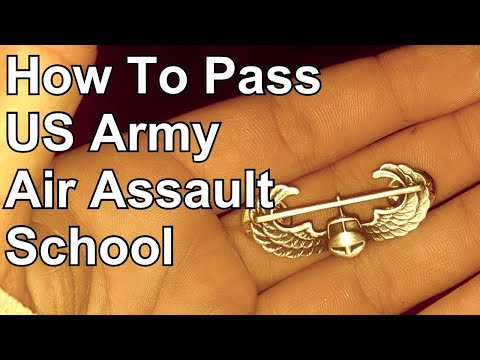 How To Pass US Army Air Assault School