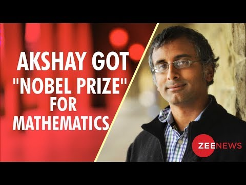 Indian-origin mathematician Akshay Venkatesh wins Fields medal, the Nobel prize for math