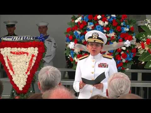 Double Interment Ceremony at the USS Arizona Memorial