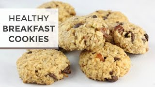 Healthy Breakfast Cookies | Almond Joy!