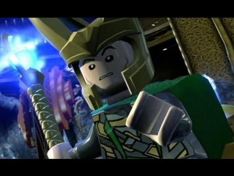 Good LEGO Marvel Super Heroes (PS4)   Loki Boss Fight